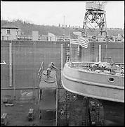 "ackroyd-P172-07 ""Tug Munsee. February 11, 1966"" (Port of Portland drydock on Swan Island)"