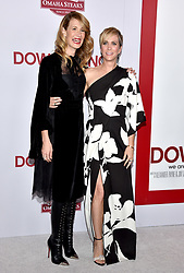 Laura Dern and Kristen Wiig attend the premiere of Paramount Pictures' 'Downsizing' at Regency Village Theatre on December 18, 2017 in Los Angeles, California. Photo by Lionel Hahn/ABACAPRESS.COM