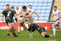 Rugby Union - 2020 / 2021 Gallagher Premiership - Wasps vs Exeter Chiefs - Ricoh Stradium<br /> <br /> Exeter Chiefs' Dave Ewers in action during this afternoon's game<br /> <br /> COLORSPORT/ASHLEY WESTERN