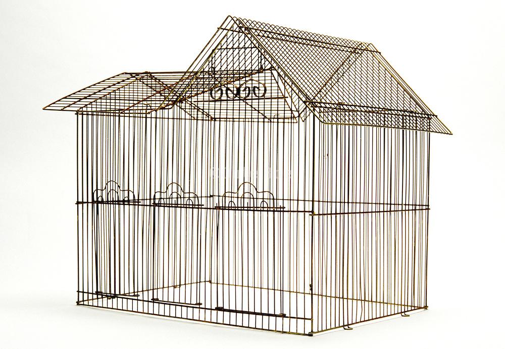 house shaped birdcage
