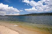 Beach Area at Scenic Big Bear Lake