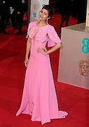 Feb 8, 2015 - EE British Academy Film Awards 2015 - Red Carpet Arrivals at Royal Opera House<br /> <br /> Pictured: Nimrat Kaur<br /> ©Exclusivepix Media