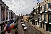Chartres Street, Toward CBD, French Quarter, New Orleans, LA