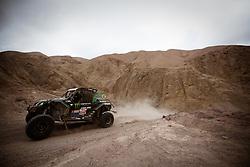 January 11, 2019 - Arequipa, Peru - AREQUIPA, PU - 11.01.2019: DAKAR 2019 - Reinaldo Varela (BRA) during the Dakar Rally 2019, this Friday (11), in Arequipa, Peru. (Credit Image: © José MáRio Dias/Fotoarena via ZUMA Press)