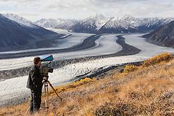 Kaskawulsh Glacier in Kluane National Park
