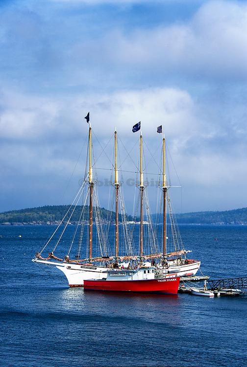 Margaret Todd Windjammer Cruise sailboat, Bar Harbor, Maine, USA