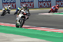 September 7, 2018 - Rimini, Italy - 17 Czech driver Karel Abraham of Team Aspar MotoGP Team driving durin free practice in Misano World Circuit Marco Simoncelli in Misano Adriatico for San Marino and Riviera di Rimini GP  (Credit Image: © Andrea Diodato/NurPhoto/ZUMA Press)