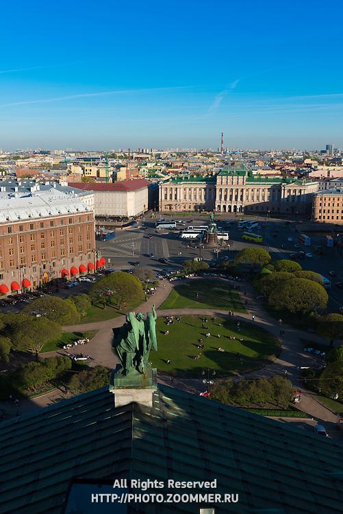 St Isaak's Squre, St Petersburg