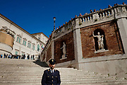 People get curious around the Quirinale Palace during political talks for the formation of a new government after the general election in Italy. Rome 23 April 2018. Christian Mantuano / OneShot