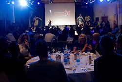 Maja Keuc performs during the Slovenian men's football player of the year 2011 award at the SPINS XI  Nogometna Gala, on November 24, 2011 in Hotel Mons, Ljubljana, Slovenia. (Photo By Vid Ponikvar / Sportida.com)