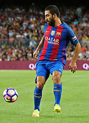 August 10, 2016 - Barcelona, Catalonia, Spain - Arda Turan during the match corresponding to the Joan Gamper Trophy, played at the Camp Nou stadiium, on august 10, 2016. (Credit Image: © Joan Valls/NurPhoto via ZUMA Press)