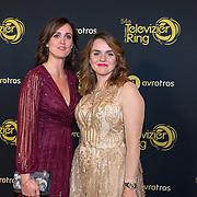 NLD/Amsterdam/20191009 - Uitreiking Gouden Televizier Ring Gala 2019, Janine Abbring en Sofie van den Enk