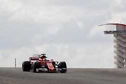 October 20, 2017 - Austin, United States of America - Motorsports: FIA Formula One World Championship 2017, Grand Prix of United States, .#5 Sebastian Vettel (GER, Scuderia Ferrari) (Credit Image: © Hoch Zwei via ZUMA Wire)