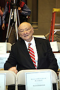 The Honorable Mayor Ed Koch at the Swearing-in of the Honorable David A. Patterson at the 55th Governor of New York  at The New York State Capitol in the Assembly Chambers on March 17, 2008