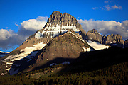 Mt Wilbur in Glacier National Park.