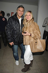 Former model SUZANNE MIZZI and FRANK CAMILLERI at The Week of Living Dangerously an exhibition and concert by Richard Ascott and Phil Colbert of fashion label Rodnik held at The Hospital, Endell Street, London on 25th March 2008.<br /><br />NON EXCLUSIVE - WORLD RIGHTS