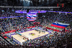 Arena full of fans during the Final basketball match between National Teams  Slovenia and Serbia at Day 18 of the FIBA EuroBasket 2017 at Sinan Erdem Dome in Istanbul, Turkey on September 17, 2017. Photo by Vid Ponikvar / Sportida