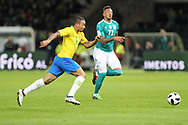 Gabriel Jesus (Brazil) during the International Friendly Game football match between Germany and Brazil on march 27, 2018 at Olympic stadium in Berlin, Germany - Photo Laurent Lairys / ProSportsImages / DPPI