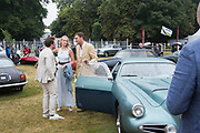 RODERICK MANN, APHRA MACTAGGART, PERRY PEARSON, Cartier Style et Luxe, Goodwood Festival of Speed. 7 July 2019