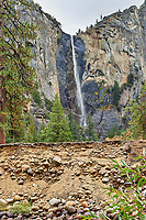 Bridalveil Falls in Yosemite Valley.   Image taken with a Nikon D3 camera and 24-70 mm f/2.8  lens (ISO 200, 70 mm, f/16, 1/15 sec).