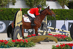 Madden Beezie (USA) - Simon<br /> Team consolation competition<br /> Furusiyya FEI Nations Cup Jumping Final<br /> CSIO Barcelona 2013<br /> © Dirk Caremans