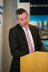 Pictured: <br /> Finance Secretary Derek Mackay delivered an address to Reform Scotland tonight. This is the fourth event, organised by Shepherd and Wedderburn, in the think tank's series of speeches on the Scottish Government's tax and spending plans.<br /> <br /> Ger Harley | EEm 28 February 2017