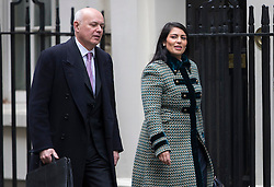 © London News Pictures. FILE PICTURE:  01/03/2016. Works and Pensions Secretary, IAIN DUNCAN SMITH and Minister of State for Employment PRITI PATEL arrive for cabinet meeting on Downing Street. Patel has been tipped as a candidate to take over as the Secretary for Work and Pensions following Iain Duncan Smith's resignation. Photo credit: Peter Macdiarmid/LNP