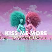 "April 09, 2021 - WORLDWIDE: Doja Cat & SZA ""Kiss Me More"" Single Release"