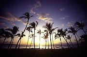 Sunset, Wailea, Maui<br />