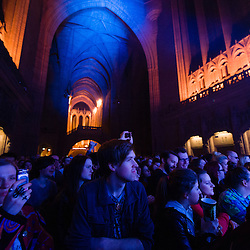 Noah and the Whale performs in the Liverpool Anglican Cathedral at Sound City, Liverpool, UK, on Thursday 2nd May, 2013.