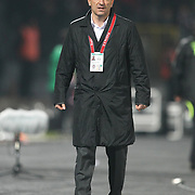 Besiktas's coach Carlos CARVALHAL during their Turkish Superleague soccer match Genclerbirligi between Besiktas at the 19 Mayis stadium in Ankara Turkey on Sunday 06 November 2011. Photo by TURKPIX