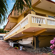 A home in southern Puerto Rico (magas arriba) collapsed during a 6.4 magnitude earthquake on Jan 6th, 2020.
