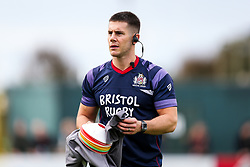 Andrew Petts looks on - Rogan/JMP - 28/10/2017 - RUGBY UNION - Stade Santander International - St Peter, Jersey - Jersey Reds v Bristol Rugby - Greene King IPA Championship.