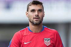 USA v Panama - Training - 05 Oct 2017