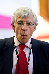 © Licensed to London News Pictures. 30/09/2012. Manchester, UK . Jack Straw outside the conference hall . Labour Party Conference Day 1 at Manchester Central . Photo credit : Joel Goodman/LNP