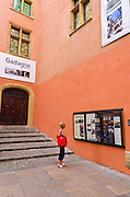 The Gadagne Museum in old town Vieux Lyon, France (UNESCO World Heritage Site)
