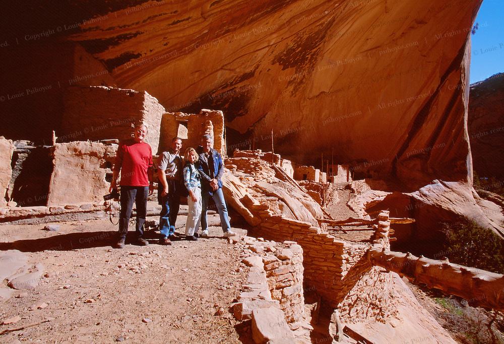 Anasazi ruins near Lake Powell.