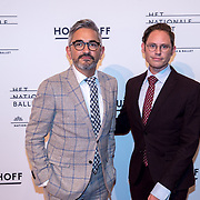 NLD/Amsterdam/20180324 - inloop première Dutch Doubles ballet, Edwin Oudshoorn en partner