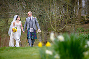 Fraser and Beci wedding, held at The Haining, Selkirk.