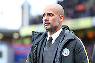 Pep Guardiola, the Manchester City manager looking on .Premier League match, Crystal Palace v Manchester city at Selhurst Park in London on Saturday 19th November 2016. pic by John Patrick Fletcher, Andrew Orchard sports photography.