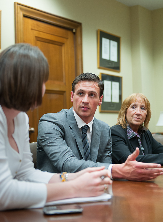 Ryan Locthte advocates for PPMD on Capitol Hill in Washington, D.C.