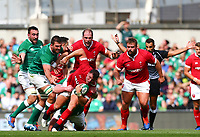 Rugby Union - 2019 pre-Rugby World Cup warm-up (Guinness Summer Series) - Ireland vs. Wales<br /> <br /> Elliot Dee (Wales) is tackled by Tadhg Furlong (Ireland) at The Aviva Stadium.<br /> <br /> COLORSPORT/KEN SUTTON