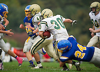 Gilford varsity football versus Bishop Brady October 6, 2012.