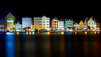 Punda, Willemstad at Night Across the St. Annabaal Channel in Willemstad, Curacuo. Image taken with a Nikon D3s and 50 mm f/1.4G lens (ISO 100, 50 mm, f/16, 20 sec).