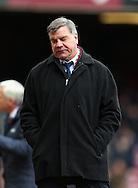West Ham's Sam Allardyce looks on dejected<br /> <br /> Barclays Premier League - West Ham United  vs Crystal Palace  - Upton Park - England - 28th February 2015 - Picture David Klein/Sportimage