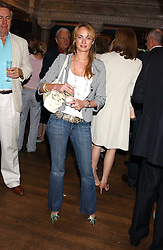 CLEMENTINE HAMBRO at the No Campaign's Summer Party - a celebration of the 'Non' and 'Nee' votes in the Europen referendum in France and The Netherlands held at The Peacock House, 8 Addison Road, London W14 on 5th July 2005.<br /><br />NON EXCLUSIVE - WORLD RIGHTS