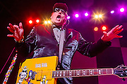 Rick Nielsen of Cheap Trick at the Wellmont Theater, Montclair, NJ 2/15/2014