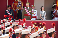 052717 Spanish Royals Attend the Armed Forces Day Homage
