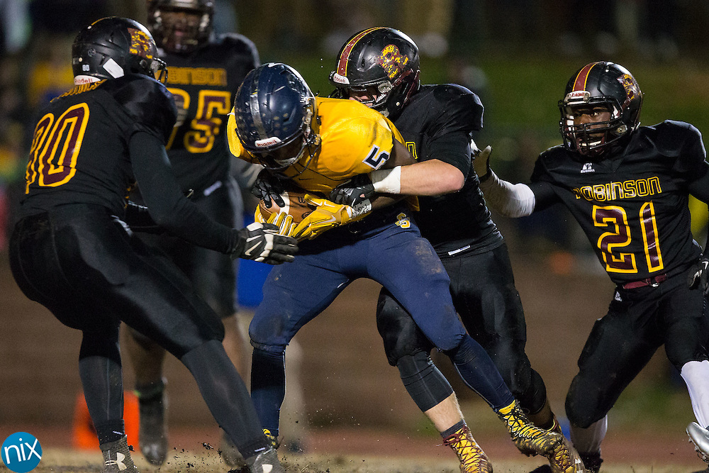 at South Iredell High School November 20, 2015, in Statesville, North Carolina.  The Vikings defeated the Bulldogs 14-13.  (Brian Westerholt/Special to the Tribune)