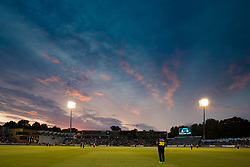 A general view of Sophia Gardens, home of Glamorgan <br /> <br /> Photographer Simon King/Replay Images<br /> <br /> Vitality Blast T20 - Round 4 - Glamorgan v Middlesex - Friday 26th July 2019 - Sophia Gardens - Cardiff<br /> <br /> World Copyright © Replay Images . All rights reserved. info@replayimages.co.uk - http://replayimages.co.uk